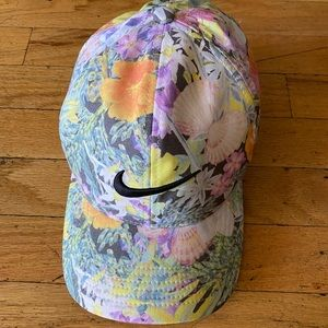Women's Nike floral dri fit hat